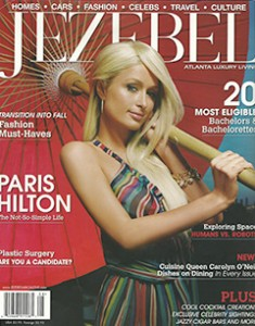 Jezebel with Paris Hilton