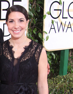 Melissa Mitchell at the Golden Globe Awards 2014